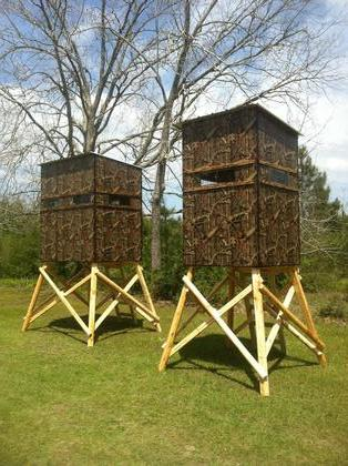 4x6 deer stand base houses plans designs