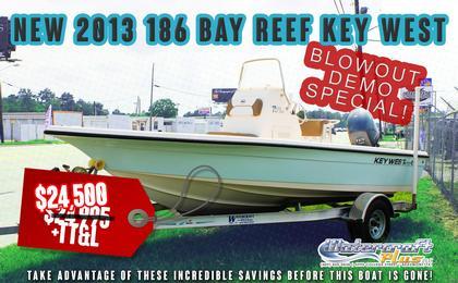 2013 Key West 186 Br Model Year End Clearance 24 500